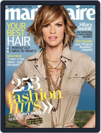 Marie Claire October 6th, 2009 Digital Back Issue Cover