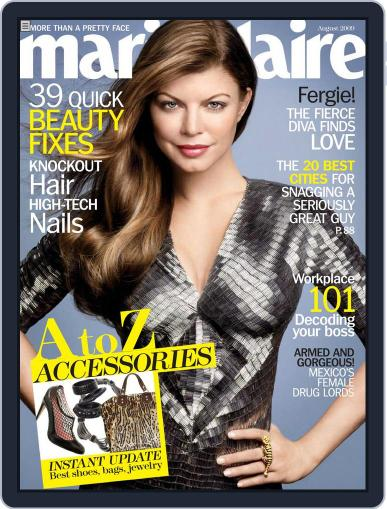 Marie Claire Magazine (Digital) July 7th, 2009 Issue Cover
