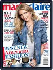 Marie Claire Magazine (Digital) Subscription June 2nd, 2009 Issue