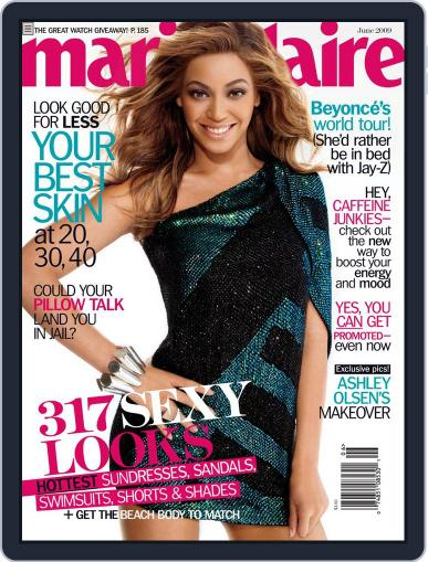 Marie Claire May 5th, 2009 Digital Back Issue Cover