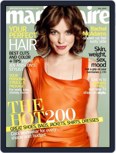 Marie Claire Magazine (Digital) April 7th, 2009 Issue Cover