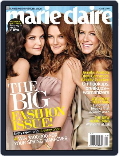 Marie Claire Magazine (Digital) February 3rd, 2009 Issue Cover
