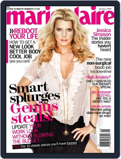 Marie Claire Magazine (Digital) January 5th, 2009 Issue Cover