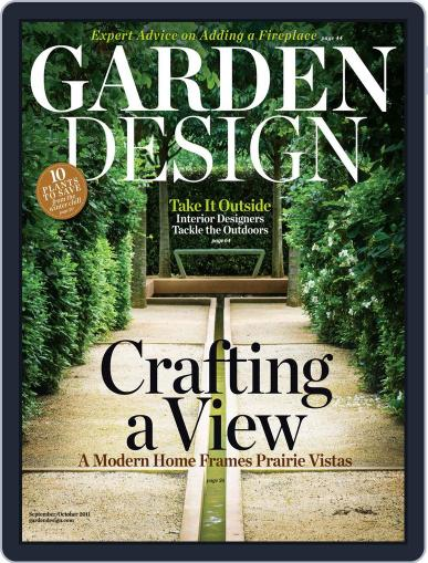 Garden Design (Digital) August 20th, 2011 Issue Cover