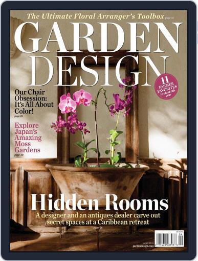 Garden Design (Digital) April 21st, 2011 Issue Cover