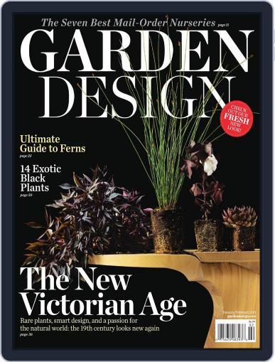 Garden Design (Digital) February 1st, 2011 Issue Cover