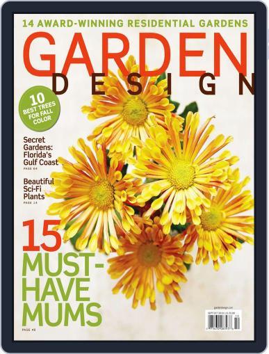 Garden Design August 28th, 2010 Digital Back Issue Cover