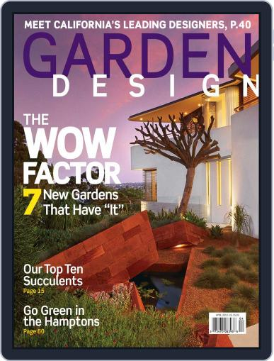 Garden Design March 20th, 2010 Digital Back Issue Cover