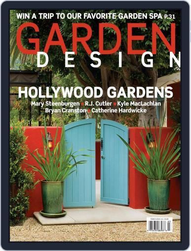 Garden Design February 13th, 2010 Digital Back Issue Cover