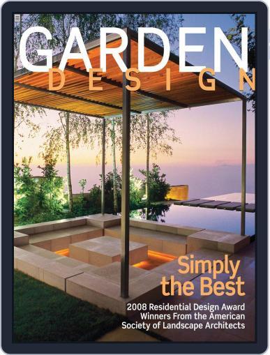 Garden Design October 4th, 2008 Digital Back Issue Cover