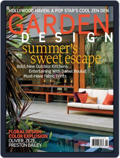 Garden Design (Digital) June 9th, 2008 Issue Cover