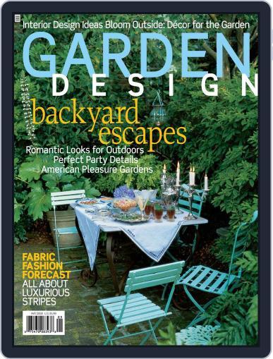 Garden Design (Digital) April 18th, 2008 Issue Cover