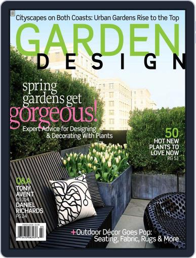 Garden Design (Digital) February 16th, 2008 Issue Cover