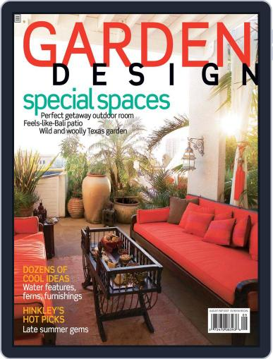 Garden Design (Digital) July 28th, 2007 Issue Cover