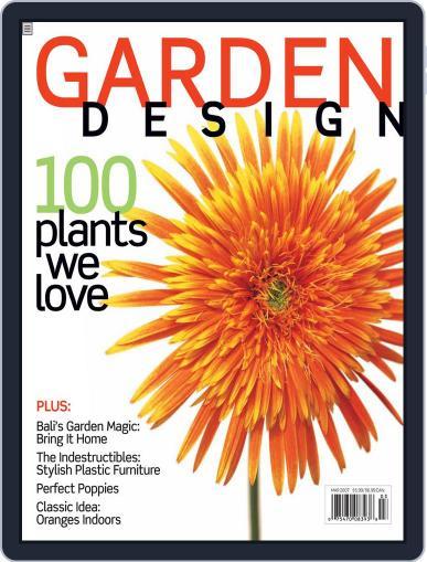 Garden Design (Digital) February 17th, 2007 Issue Cover