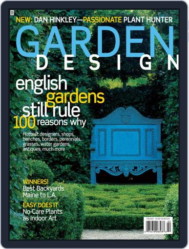 Garden Design (Digital) December 30th, 2006 Issue Cover