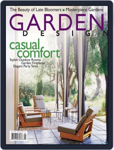 Garden Design (Digital) August 12th, 2006 Issue Cover
