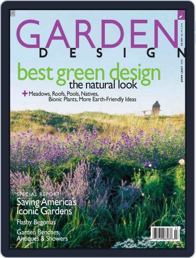 Garden Design (Digital) June 3rd, 2006 Issue Cover