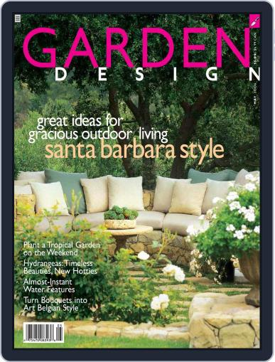 Garden Design (Digital) April 22nd, 2006 Issue Cover