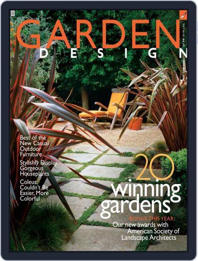 Garden Design (Digital) January 3rd, 2006 Issue Cover