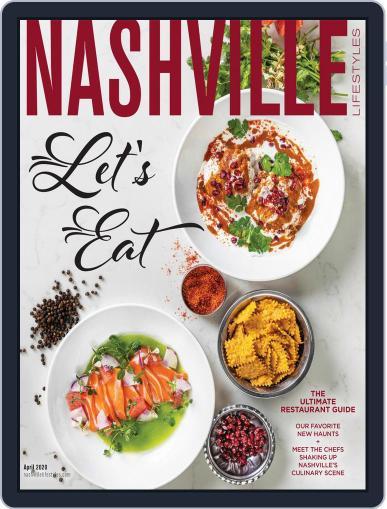 Nashville Lifestyles April 1st, 2020 Digital Back Issue Cover