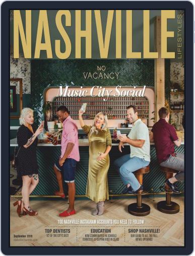 Nashville Lifestyles (Digital) September 1st, 2019 Issue Cover