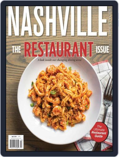 Nashville Lifestyles April 1st, 2018 Digital Back Issue Cover