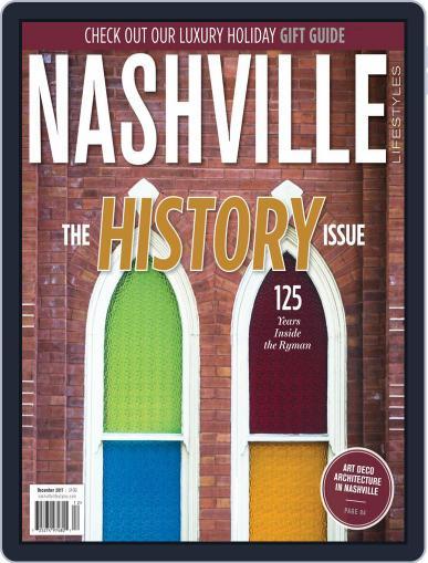 Nashville Lifestyles December 1st, 2017 Digital Back Issue Cover