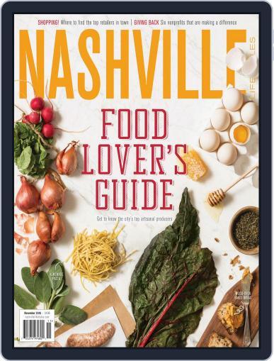 Nashville Lifestyles (Digital) November 1st, 2016 Issue Cover