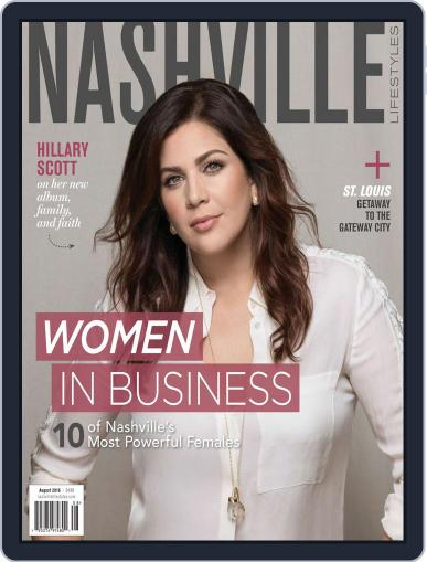 Nashville Lifestyles (Digital) August 1st, 2016 Issue Cover