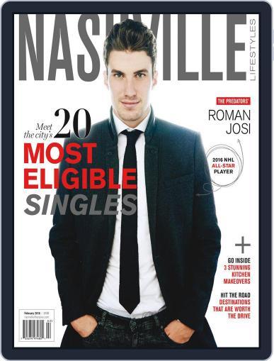 Nashville Lifestyles February 1st, 2016 Digital Back Issue Cover