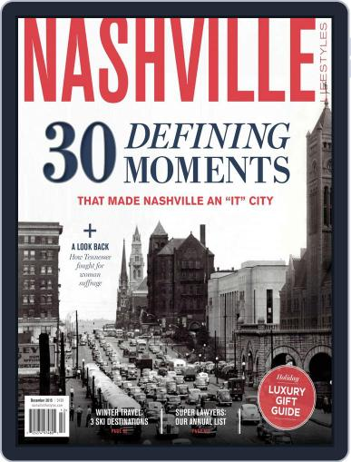 Nashville Lifestyles (Digital) December 1st, 2015 Issue Cover
