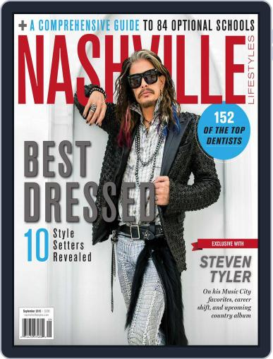 Nashville Lifestyles September 1st, 2015 Digital Back Issue Cover