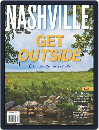 Nashville Lifestyles March 1st, 2015 Digital Back Issue Cover