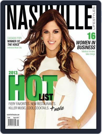 Nashville Lifestyles August 1st, 2013 Digital Back Issue Cover