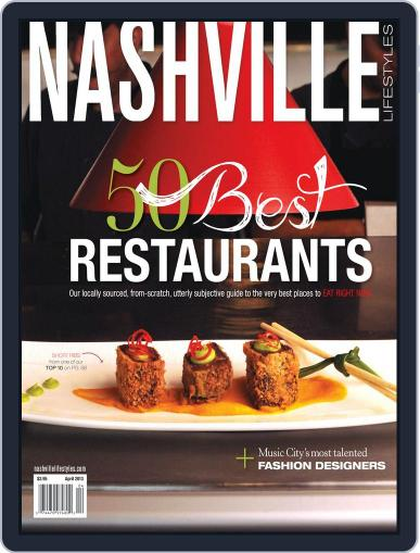 Nashville Lifestyles March 28th, 2013 Digital Back Issue Cover