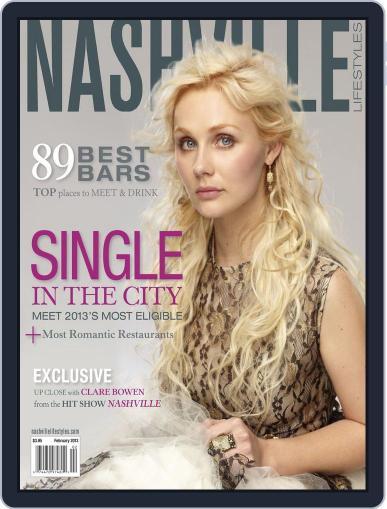 Nashville Lifestyles January 31st, 2013 Digital Back Issue Cover