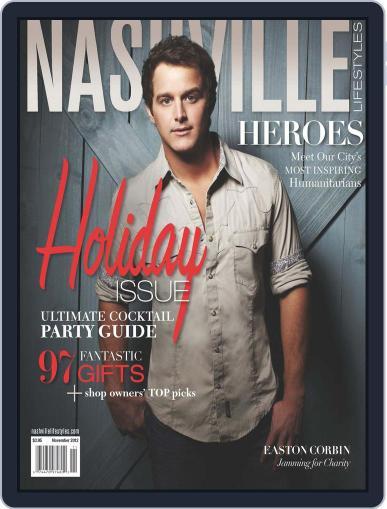 Nashville Lifestyles (Digital) November 1st, 2012 Issue Cover