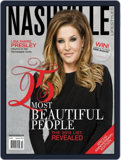 Nashville Lifestyles (Digital) October 1st, 2012 Issue Cover