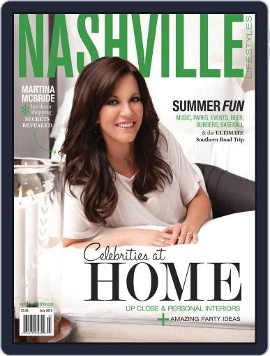 Nashville Lifestyles (Digital) July 1st, 2012 Issue Cover