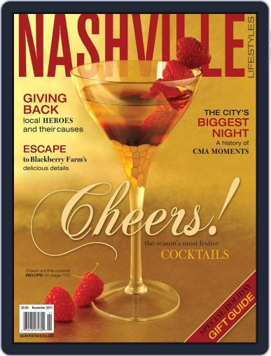 Nashville Lifestyles November 1st, 2011 Digital Back Issue Cover