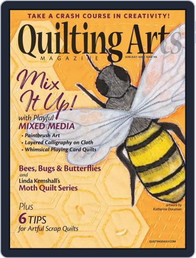 Quilting Arts (Digital) June 1st, 2020 Issue Cover