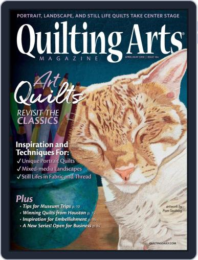 Quilting Arts (Digital) April 1st, 2020 Issue Cover