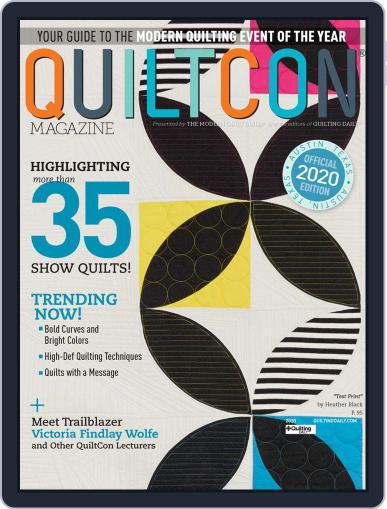 Quilting Arts (Digital) February 15th, 2020 Issue Cover