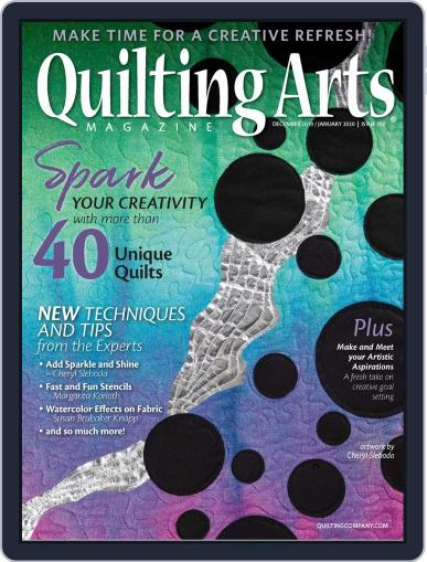 Quilting Arts (Digital) December 1st, 2019 Issue Cover