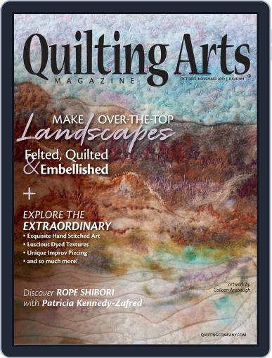 Quilting Arts (Digital) October 1st, 2019 Issue Cover