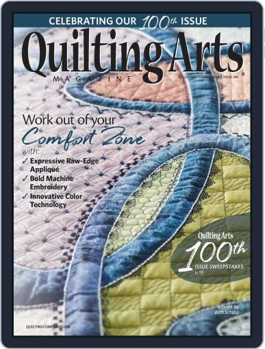 Quilting Arts (Digital) August 1st, 2019 Issue Cover