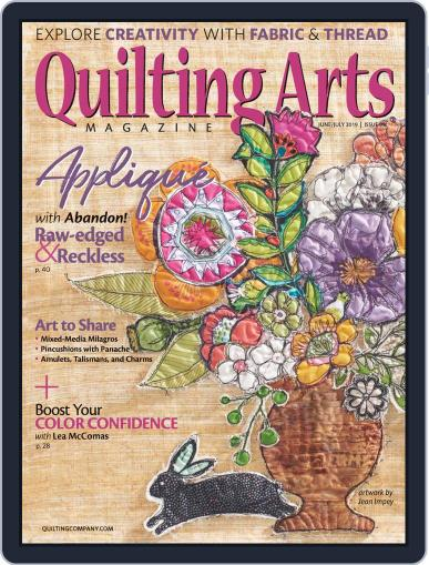 Quilting Arts (Digital) June 1st, 2019 Issue Cover