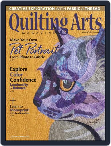 Quilting Arts (Digital) March 1st, 2019 Issue Cover