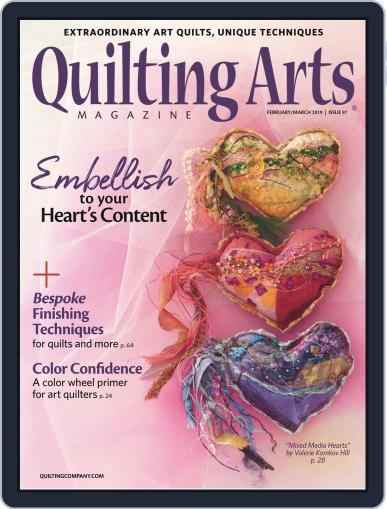 Quilting Arts (Digital) February 1st, 2019 Issue Cover